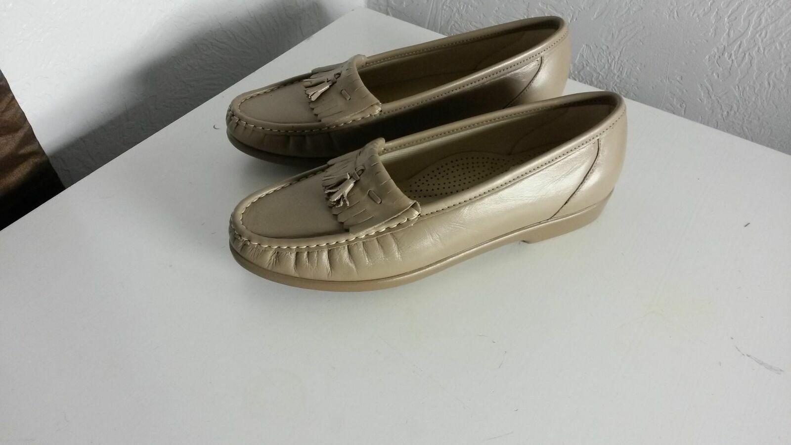 SAS tripad Comfort Pied Lit Femmes Tan orthopédique chaussures Sz 9 m ( 153)