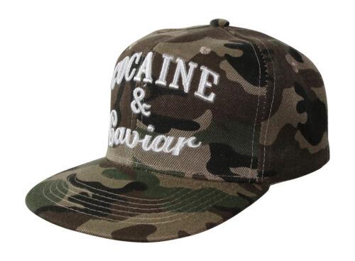Army Snapback Cap Basecap Caps Donna Uomo King Queen FRESH cocain la NY FUCK