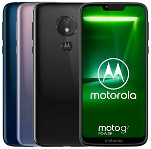 Motorola Moto G7 Power Xt1955 4 Dual Factory Unlocked 6 2 64gb 4gb Ram Black Ebay