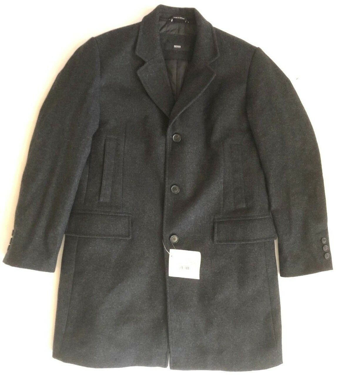 NWT Hugo Boss  845  virgin wool style 50169 winter sports trench topcoat mens 40R  online discount