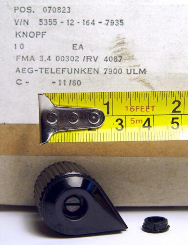 Pointer Knob Knopf Zeigerknopf NOS 10x Telefunken Spannzangen-Drehknopf