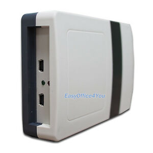 Details about rfid uhf desktop reader writer with Dual USB interfaces free  sdk and sample card