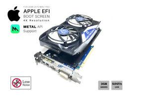 SILENT-R9-280x-3GB-GPU-For-Apple-Mac-Pro-w-EFI-Boot-screen-METAL-Mojave-4K