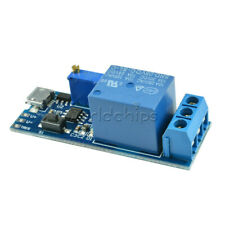 5 30v Micro Usb Power Delay Relay Board Timer Control Module Trigger Switch