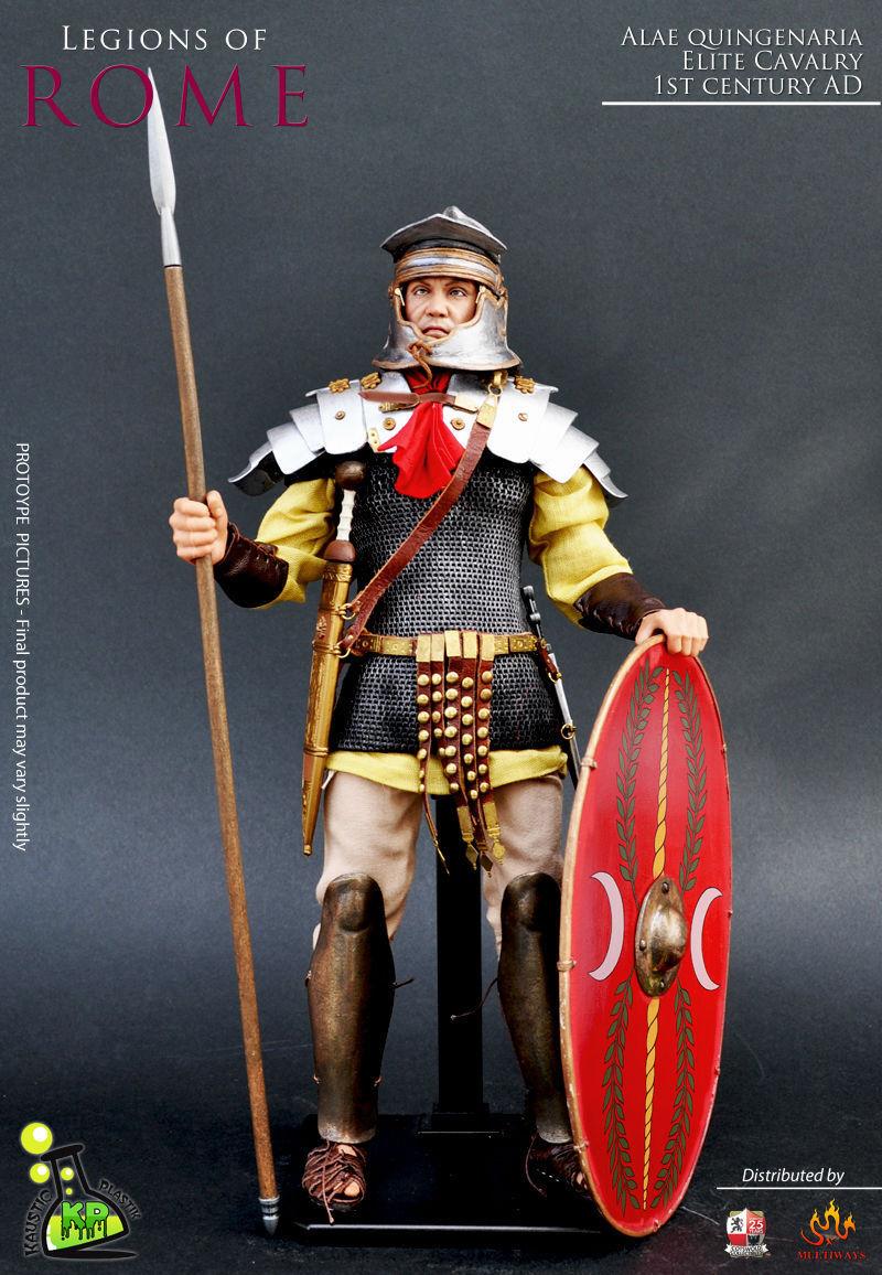Escala 1 6 Kaustic Plastik KP16 legiones de Roma atmosféricas quingenaria (Heavy cavalery)