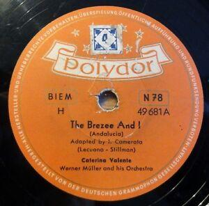 Caterina-Valente-The-Brezee-And-I-Jalousie-Polydor-10-034-78-RPM