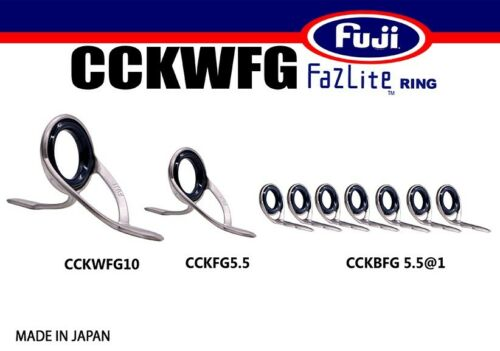FUJI Fazlite ring CCKWFG CCKFG CCKBFG SET Casting Rod Guides SET