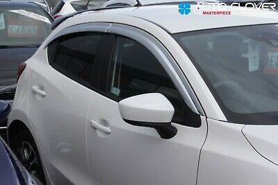 Para Mazda 2 2014 MK4 viento desviadores conjunto 4 Piezas
