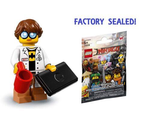 LEGO The Ninjago Movie Series Minifigure - GPL Tech Girl - Batman Shirt 71019