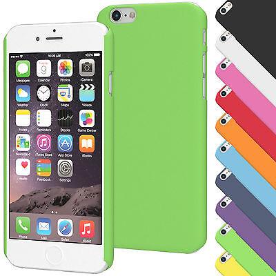 Hardcover für Apple iPhone Serie Case Cover Schutz Hülle Silikon TPU Tasche Dünn