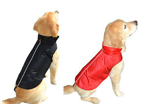 Pet-Dog-Jacket-Vest-Water-Resistant-Fleece-Lined-Warm-Winter-Fall-Weather