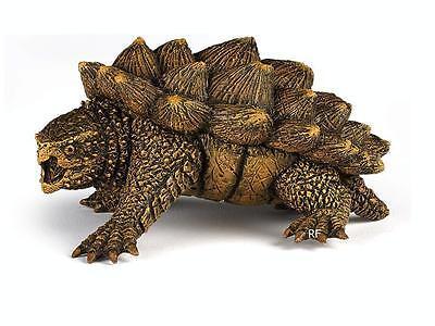 NEU Spielfigur Wildtiere Papo 50179 Schildkröte Figur Geierschildkröte