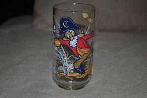 16 oz  In Excellent Condition Vintage 1970/'s Collectible Glasses 1977 Captain Crook McDonald/'s Glass Retro McDonald Glasses
