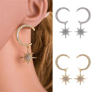 Crystal-Star-Moon-Earrings-Rhinestone-Long-Pendant-Drop-Dangle-Earrings-JewelrES
