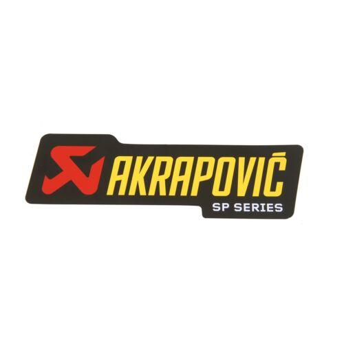 VTR 1000 Akrapovic SP échappement Autocollant Hitzefest HONDA VTR 1000 Fire Storm