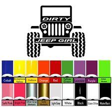 Jeep Decal   WRANGLER Hood Door Fender Window Decal rubicon sahara JK CJ TJ YJ