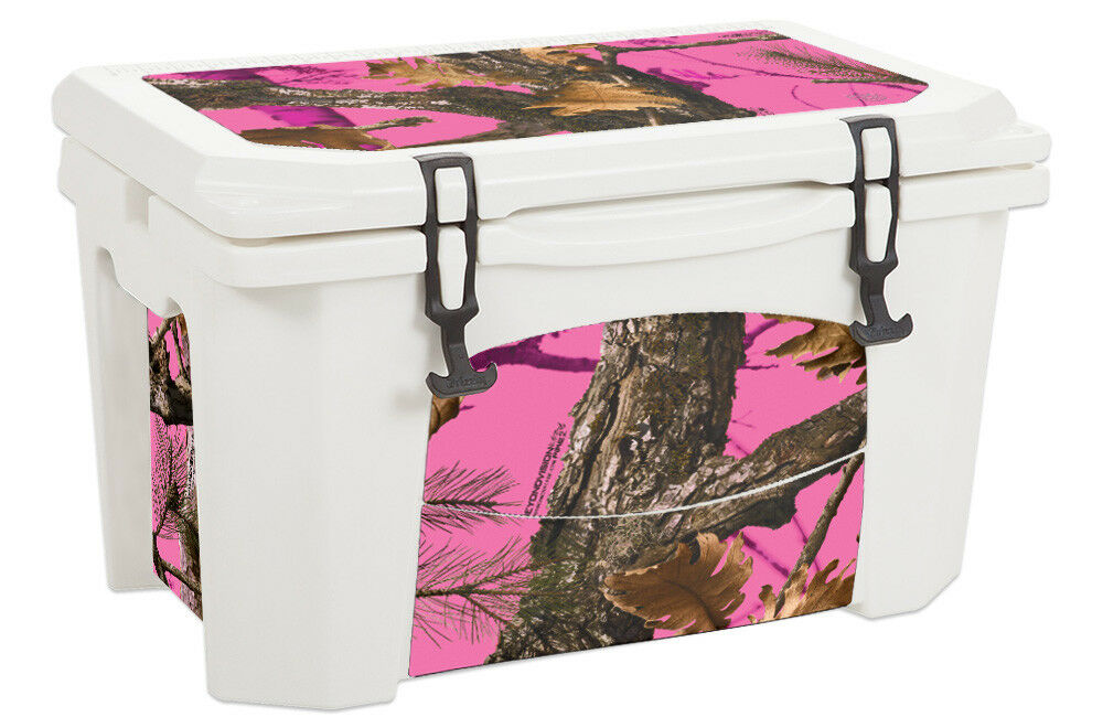 USATuff Custom Cooler Wrap Decal fits Grizzly 75qt L+I Rosa Tree Camo