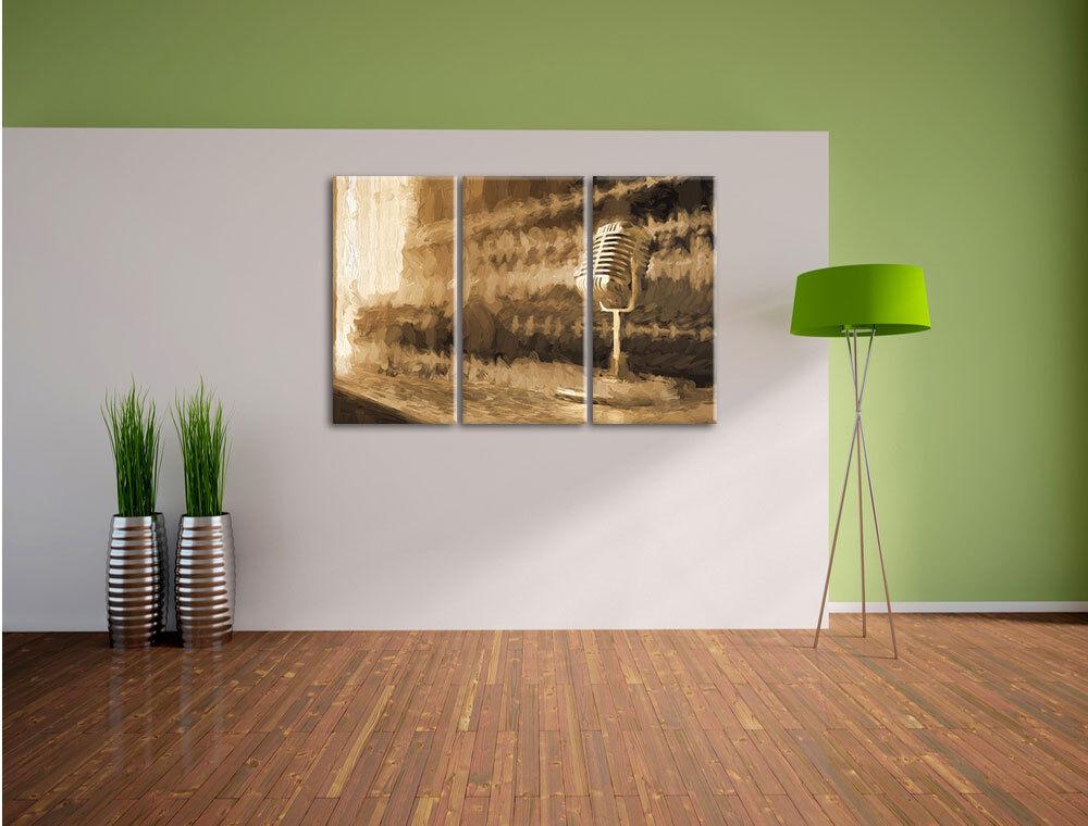 Studio Studio Studio musica effetto pennello 3-Divisorio Tela Decorazione stampa d'arte 42d411