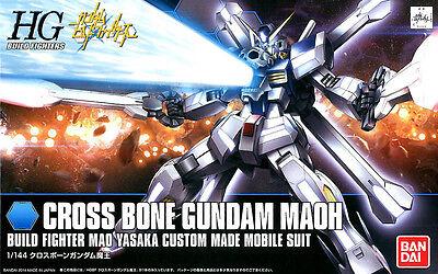 HGBF 1/144 Crossbone Gundam Maoh Build Fighters Plastic Model Kit Bandai