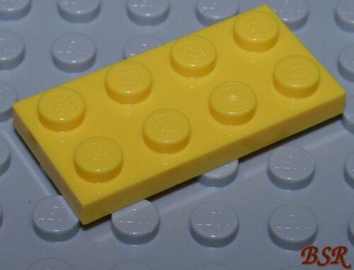 BB05 20 Stück gelbe 1//3 Steine 2x4 Platten Plättchen gelb 3020 /& NEU !