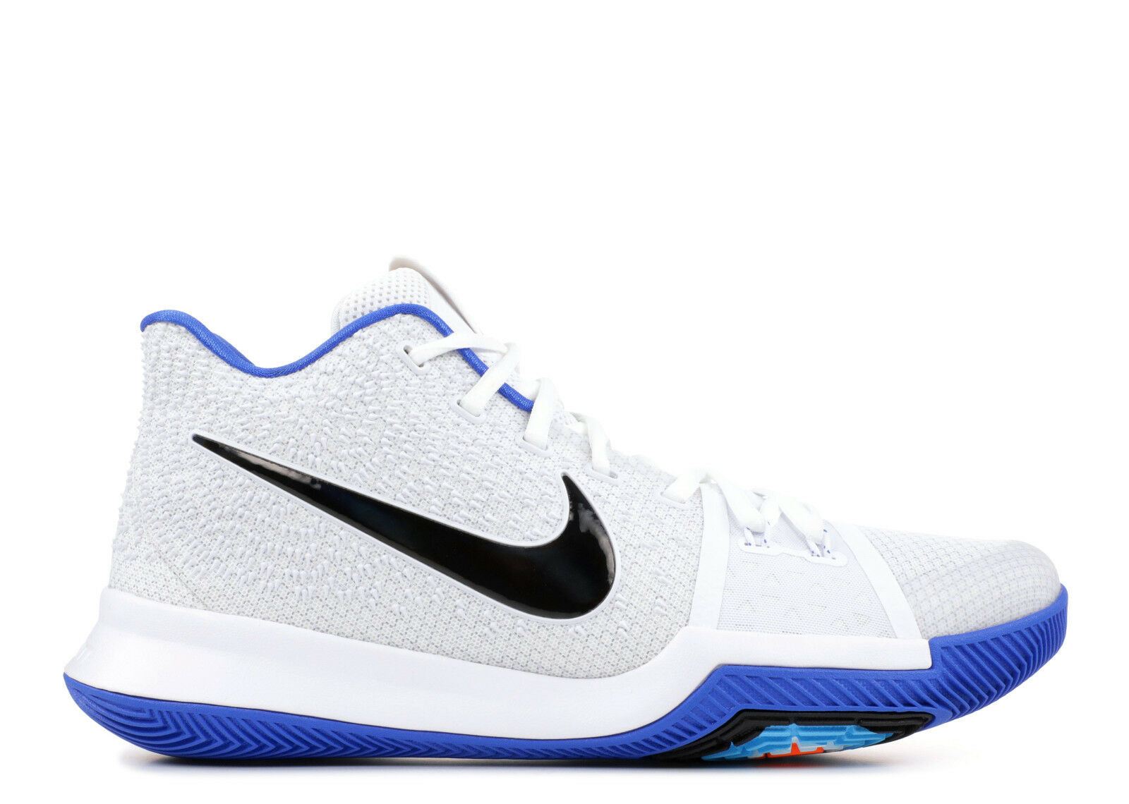 SALE NIKE KYRIE III 3 WHITE BLACK HYPER COBALT blueE SZ 14 852395 102 NEW DUKE
