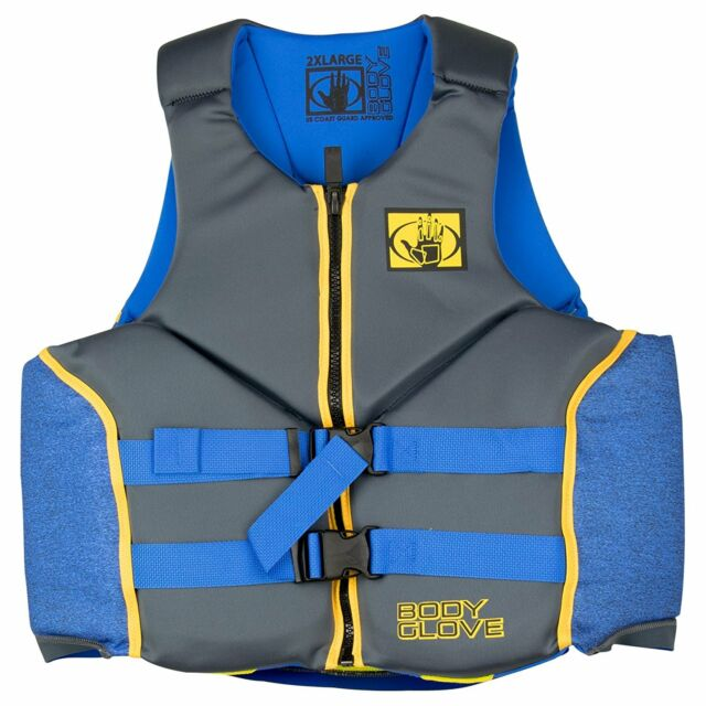 Body Glove Mens PFD U.S. Coast Guard Approved Evo-Prene Life Jacket Vest