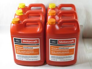 Details about Motorcraft® Orange Antifreeze/Coolant Case of 6 Gal   (VC3DILB) 50/50 PREDILUTED