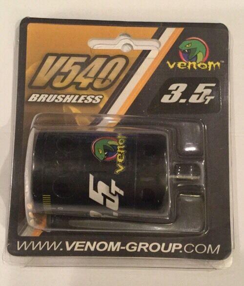 Venom 1 0 brushless 3.5t motor v540