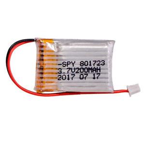 BATER-A-LiPo-3-7V-200mAh-35C-JST-PH-DRONE-Eachine-E010-E010C-E011-E011C-E013-RC