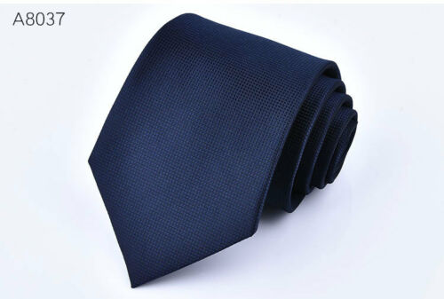 Classic Men/'s Tie Silk Necktie Set Blue Red Black Grey Gold Pink Paisley Solid