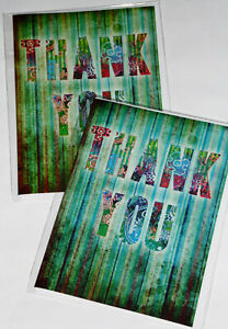 THANK-YOU-CARDS-JUST-25p-x-12-039-TWICE-AS-NICE-039-WRAPPED-FOILED-F56