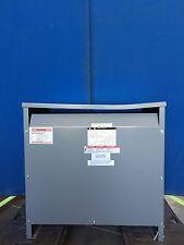 Square D Sorgel 75 KVA 480-120/208 3 Phase Delta Y Copper wound Transformer