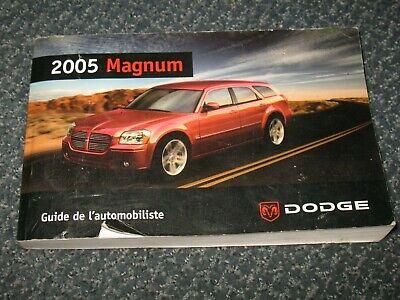 2006 Dodge Magnum Owner Manual User Guide Reference Operator Book Fuses