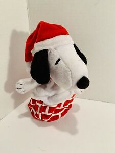 Santa-Snoopy-Plush-In-Pop-Up-Chimney