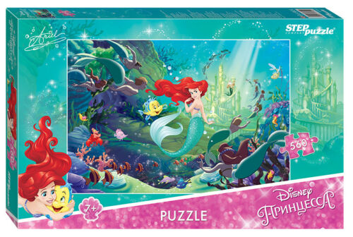 Step Puzzle Company Jigsaw 560 The Little Mermaid-2