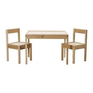 Ikea Children S Kids Table 2 Chairs Set Furniture 50178411 Shippin