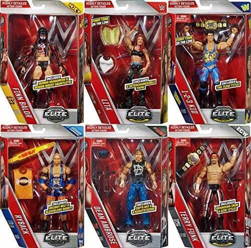 WWE Figures - Elite Series 41 - Mattel - Brand New - Sealed