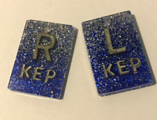 3 Pairs L/&R Xray Markers with initials Transparent.