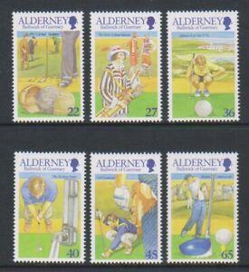 Alderney - 2001, Alderney Golf Club Set - Nuovo senza Linguella - Sg A169/74
