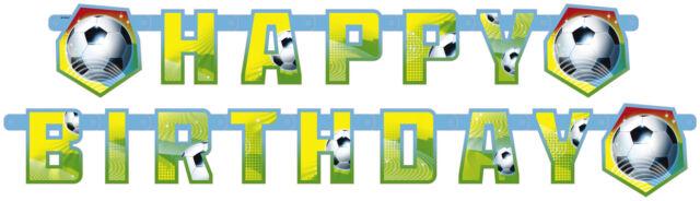 *FUSSBALL* Geschirr & Deko zur Fussballparty / Kindergeburtstag / Mottoparty 3