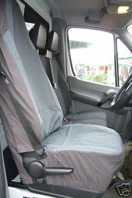 WATERPROOF GREY MERC SPRINTER VAN SEAT COVERS