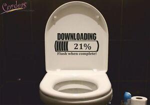 Details zu WC Deckel Aufkleber Funny Gamer Bad Badezimmer Toilette Folie  Sticker Wandattoo