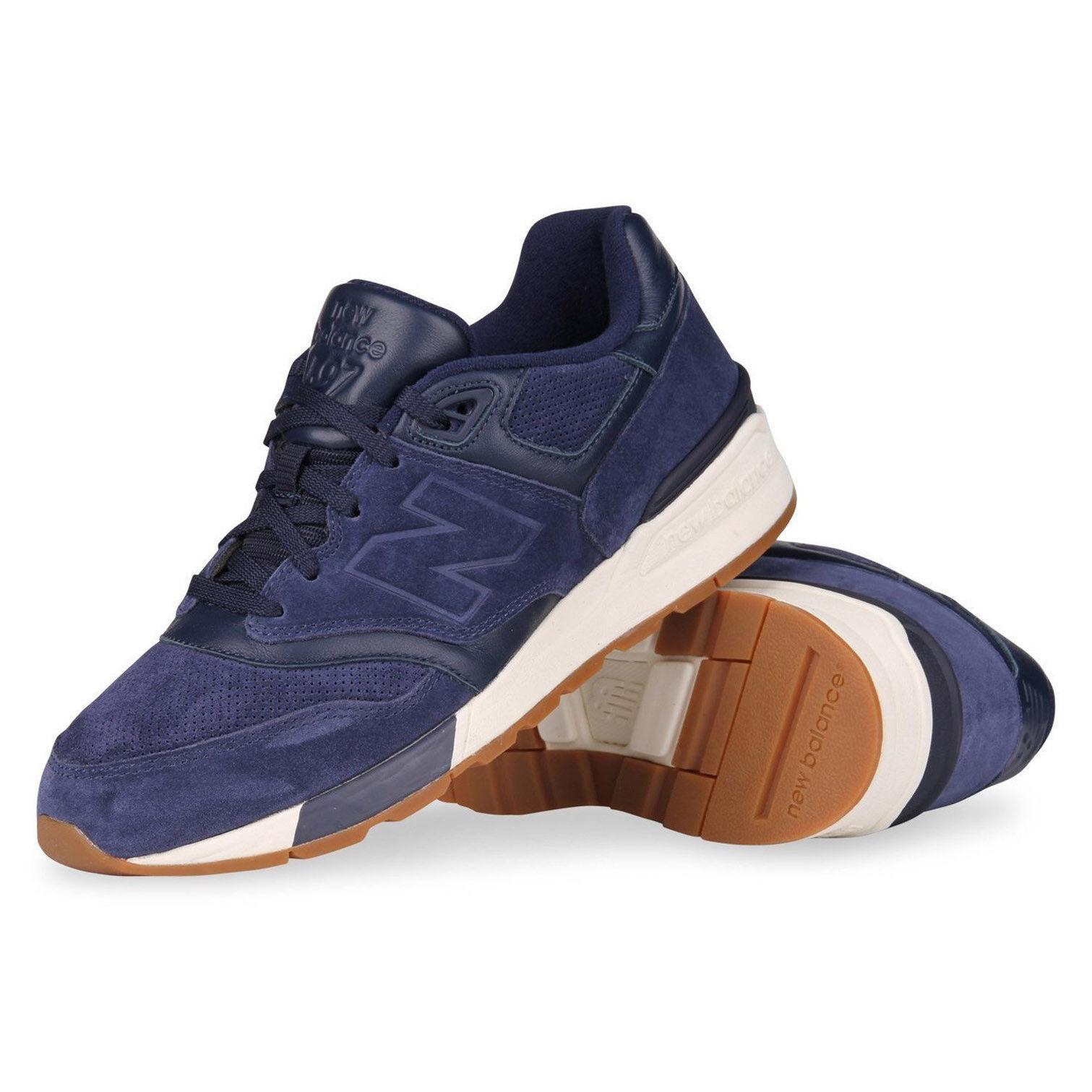 Nuovo equilibrio moda maschile marino scarpe classiche pigmento sale marino maschile ml597skf 64cbe7