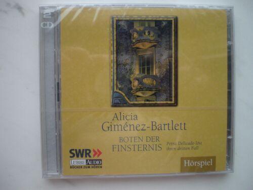 """1 von 1 - Hörspiel/Hörbuch """" Boten der Finsternis """" v. Alicia Giménez-Bartlett NEU OVP"""