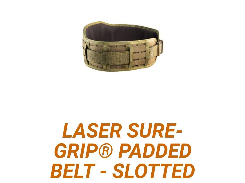 High Speed Gear Laser Slim Grip Padded Belt