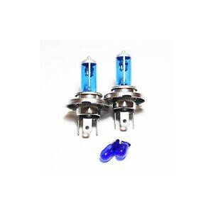 Peugeot 207 55w ICE Blue Xenon HID High//Low//Fog//Side Headlight Bulbs Set