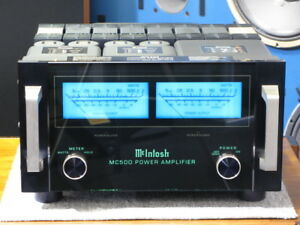 McIntosh-MC500-Power-Amplifier-Faceplate-and-Meter-LED-Bulbs-Lamps-lights-Filter