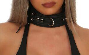 Leder Halsband Bondage BDSM Fetisch Demuts Riemen Slave Fessel leder-joe