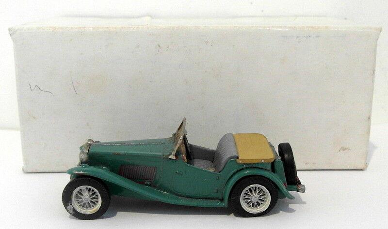 Abingdon Models 1 43 Scale bianca Metal Model - MGTC - verde
