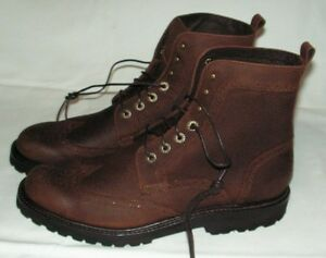 c363fa82310 Details about Wolverine Percy Wingtip Men's Boots Size 12 D New MSRP $295